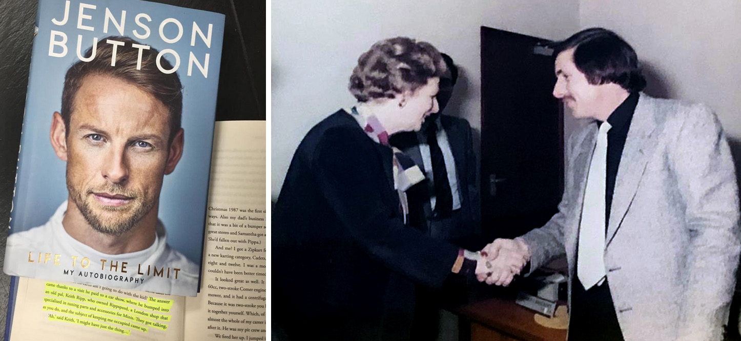 Keith Ripp and Prime Minister Margaret Thatcher