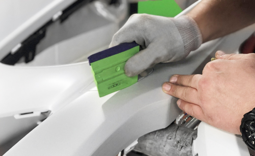 Preparing and applying Paint Protection Film