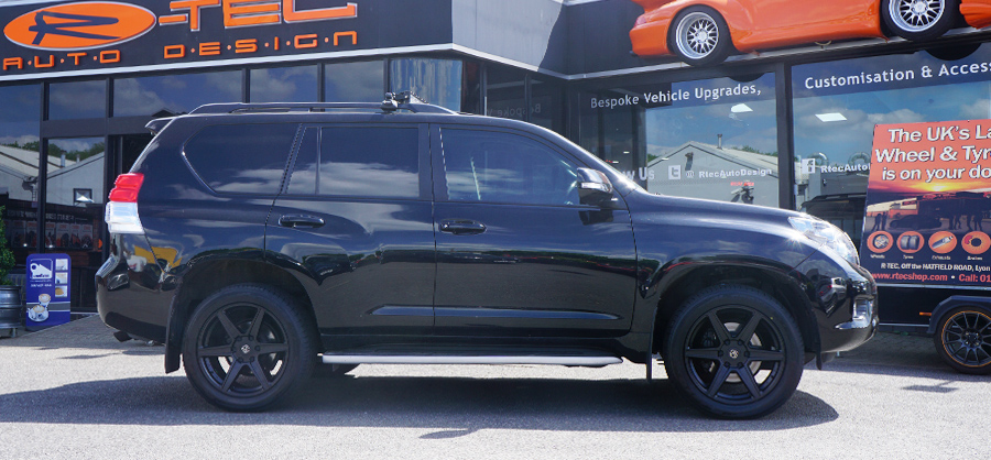 Jeep SUV Black Privacy Glass Tint upgrade at RTec