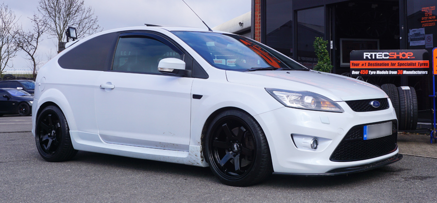 White Focus ST Rota Bola Black Privacy Glass Tint upgrade at RTec