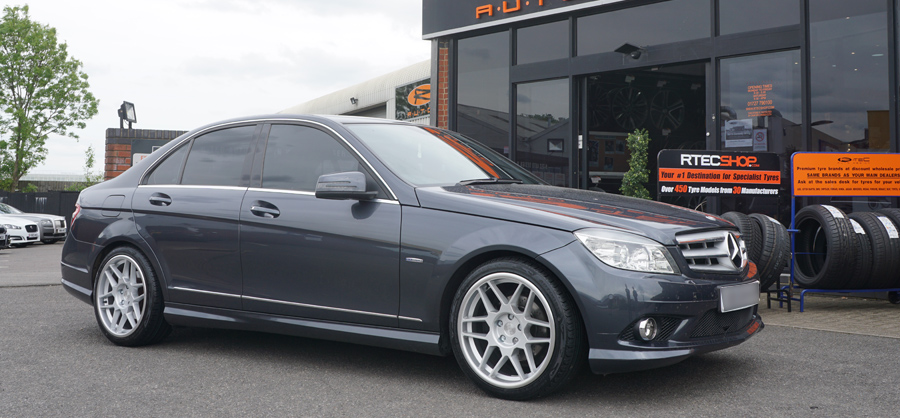 Mercedes C Class C63 3SDM Privacy Glass Tint upgrade at RTec