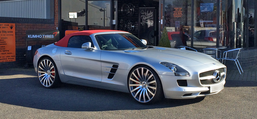 Mercedes AMG Cabriolet Silver Privacy Glass Tint upgrade at RTec