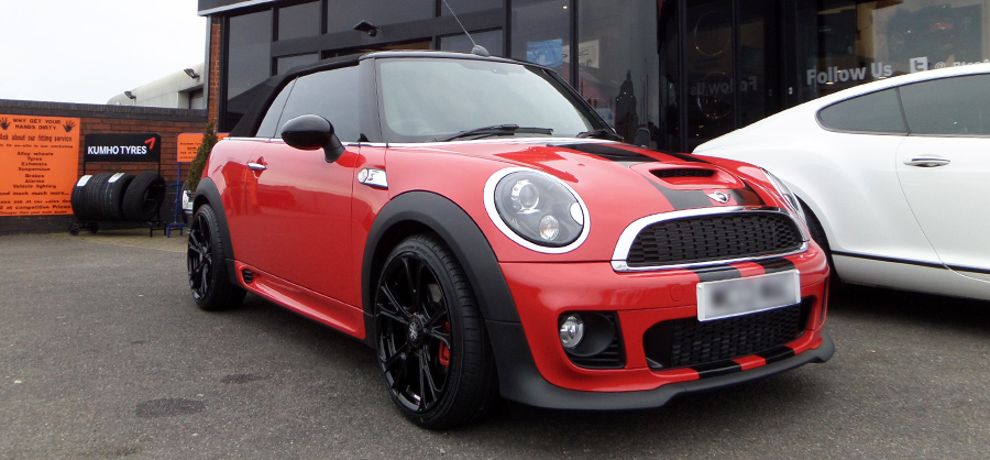 Mini Cooper S R56 Red Bkack Privacy Glass Tint upgrade at RTec
