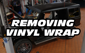 De wrap my car - Removing vinyl wrap