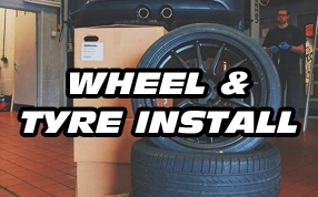 Wheel & Tyre Installation