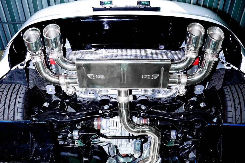 IPE Valvetronic Muffler with Tips for Volkswagen Golf (Golf