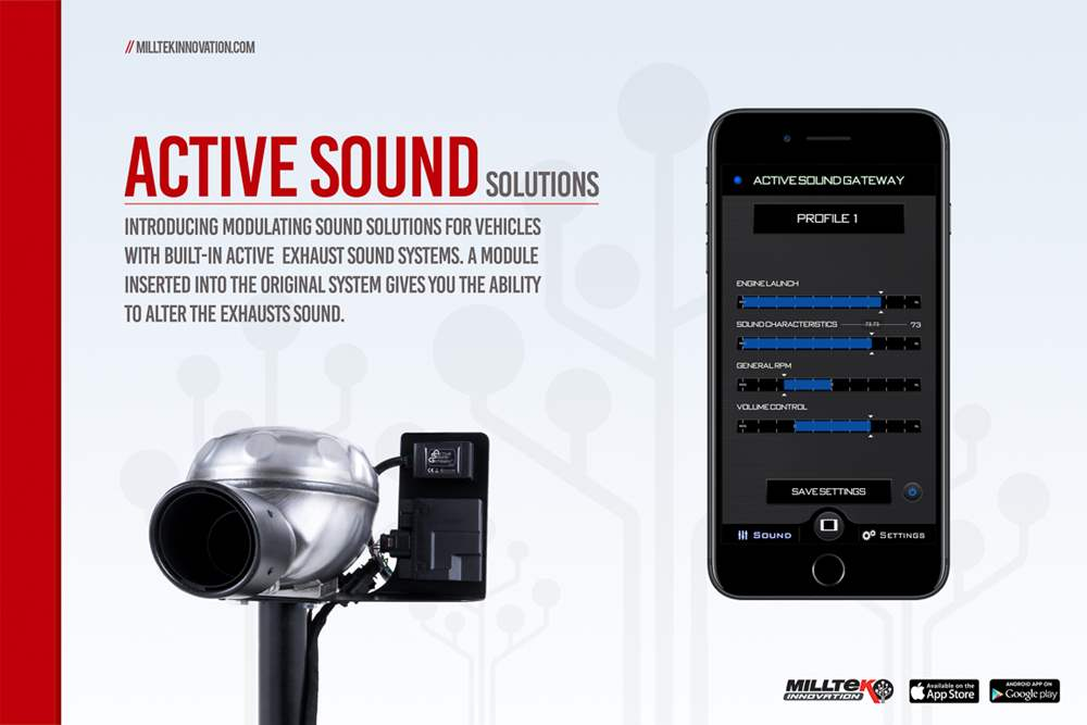 Milltek Active Sound Control for Audi SQ5 3 0 V6 Bi-TDI